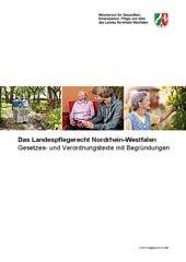 Bild der Broschüre Gesetze- und Verordnungstexte des Landespflegerechts NRW